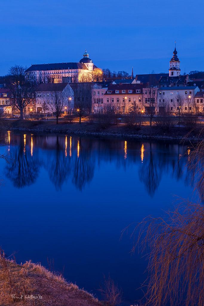 Schloss Neu-Augustusburg und Marienkirche